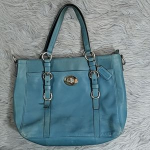 Coach Soft Leather Tote